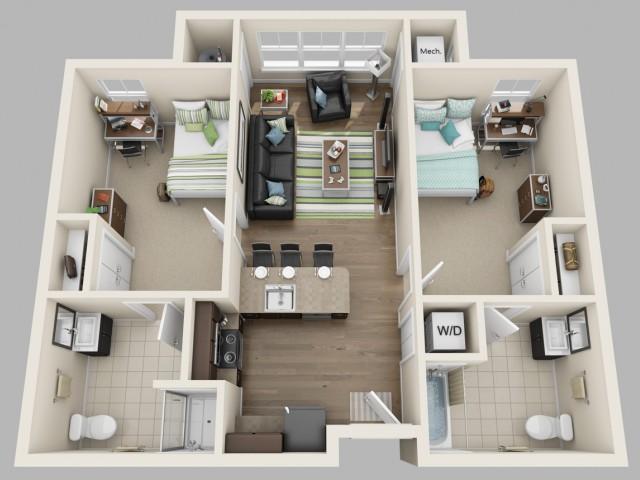 Floor Plan   Twin River