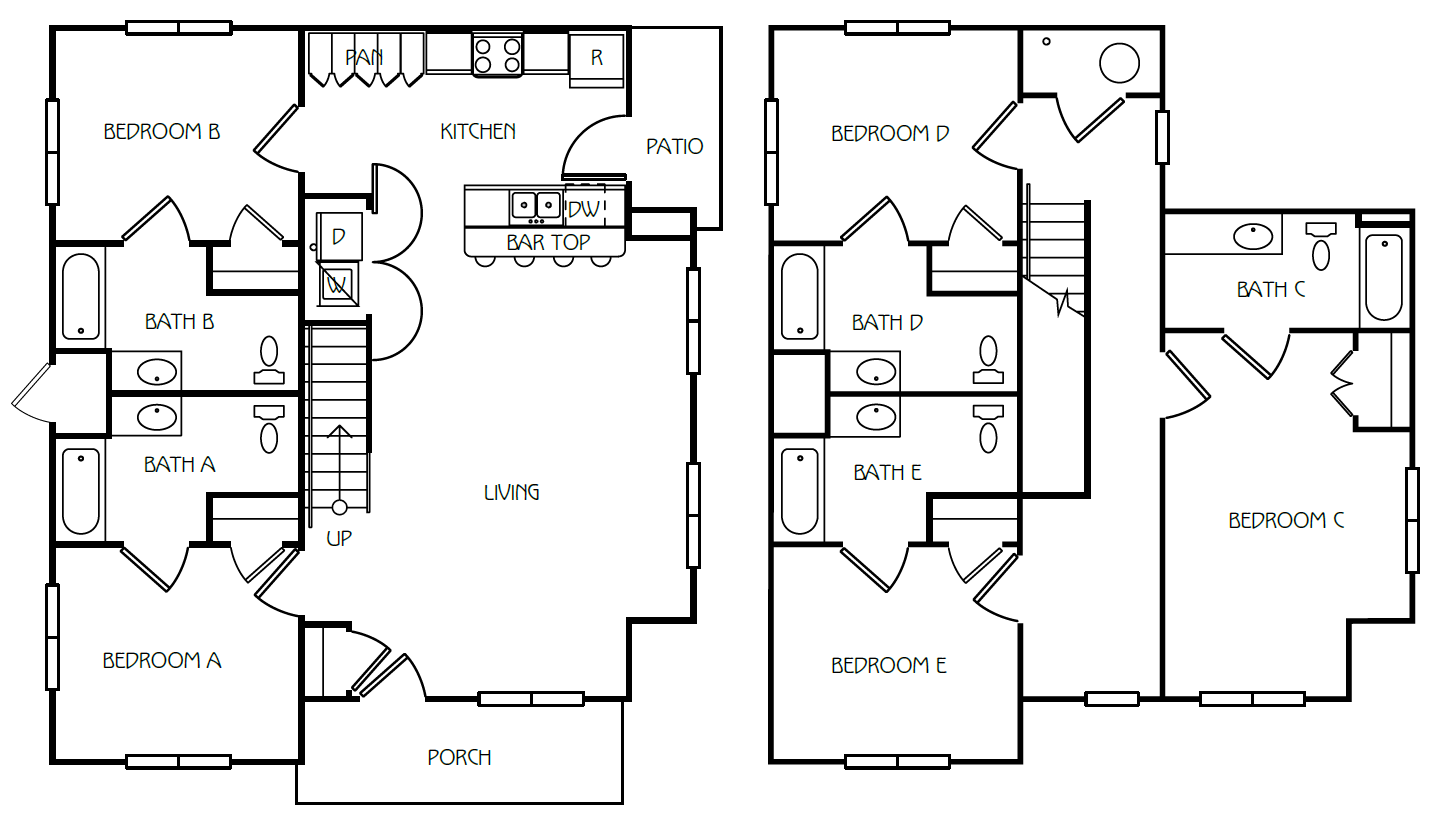 5 Bedroom / 5 Bathroom