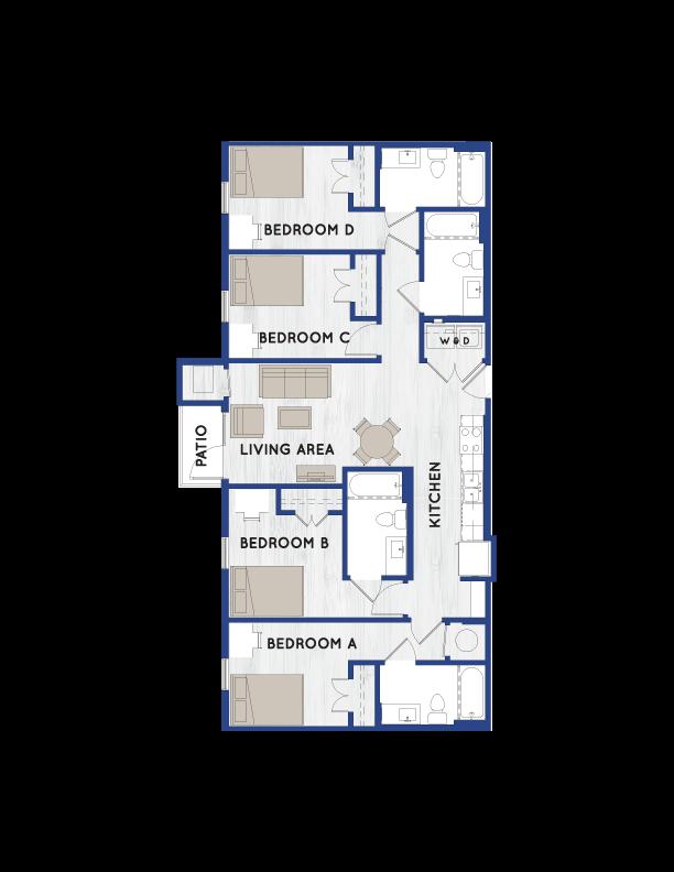 D1 Floorplan