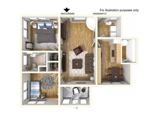 Floor Plan 5 | Schofield Barracks Housing | Island Palm Communities