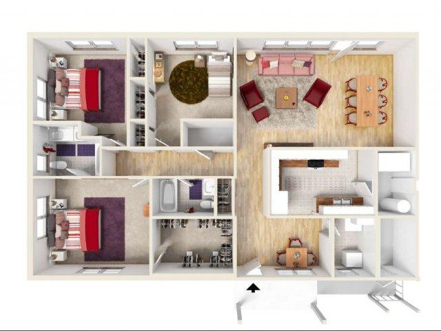 Floor Plan 13 | Ft Knox Housing | Knox Hills