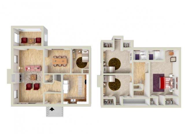 Floor Plan 12 | Fort Knox Housing On Post | Knox Hills