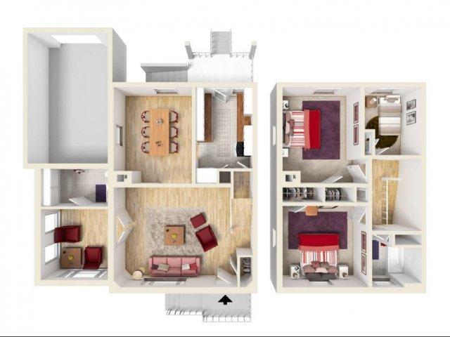 Floor Plan 10 | Knox Hills | Knox Hills