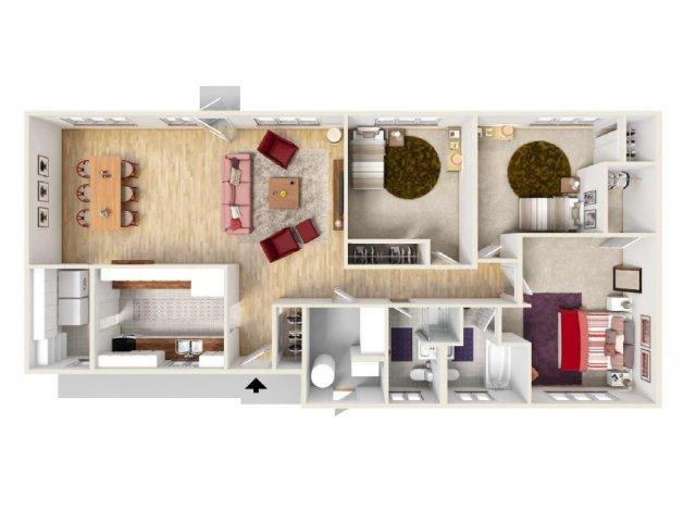 Floor Plan 7 | Fort Knox Housing On Post | Knox Hills