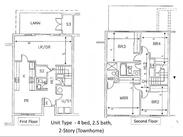 4-bedroom legacy townhome on Schofield