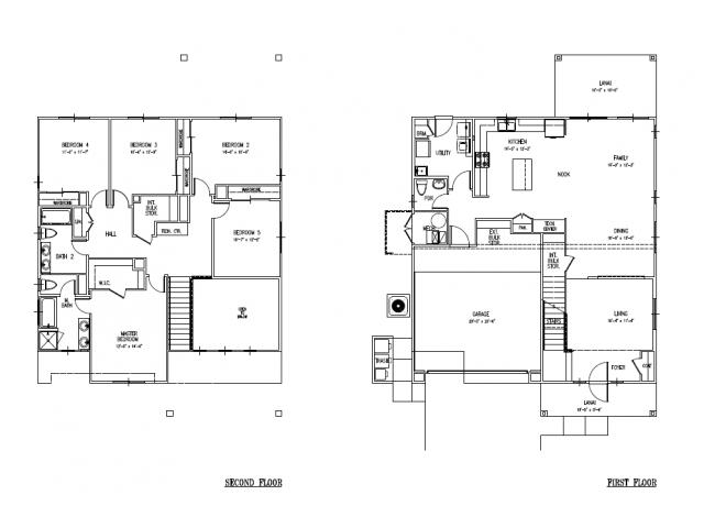 5-bedroom new single family home on Schofield, Wheeler, FGO, SNCO large floor plan