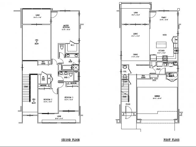 Floor Plan 20 | Schofield Barracks Housing | Island Palm Communities