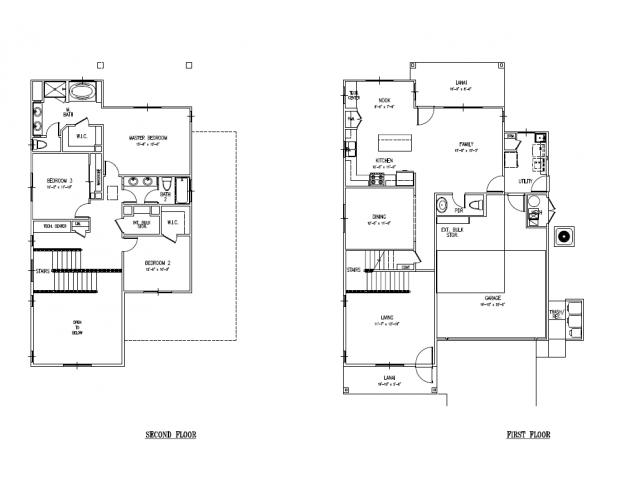 Floor Plan 22 | Island Palm Communities Fort Shafter | Island Palm Communities