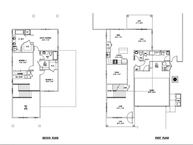 Floor Plan 23 | Schofield Barracks Hawaii | Island Palm Communities