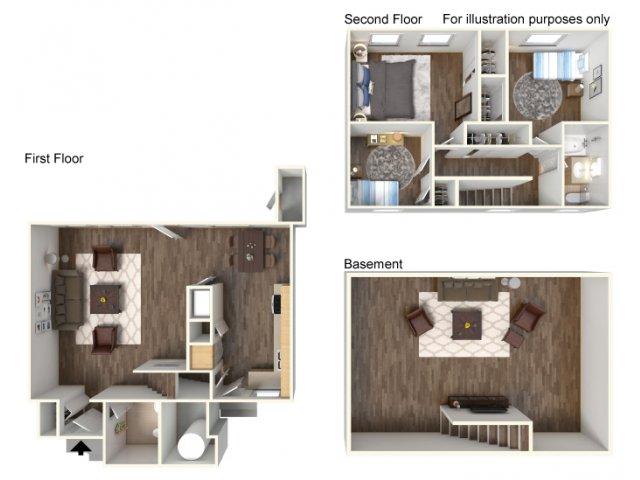 Floor Plan 1 | Fort Hood Housing | Fort Hood Family Housing