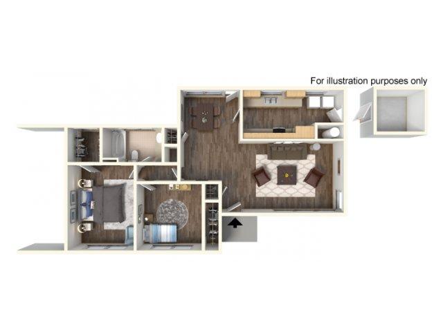 Floor Plan 2 | fort hood housing floor plans | Fort Hood Family Housing