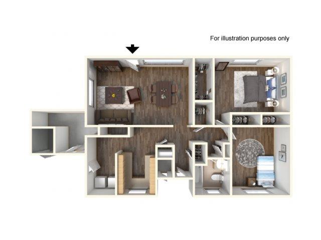 Floor Plan 3 | Ft Hood Housing | Fort Hood Family Housing