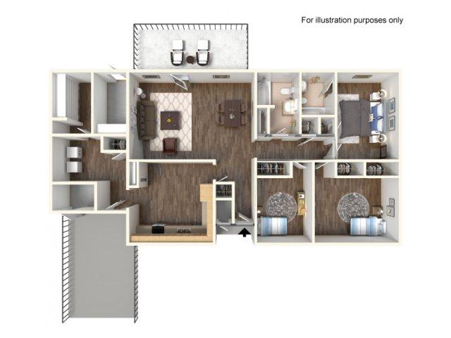 Floor Plan 10 | fort hood texas housing | Fort Hood Family Housing