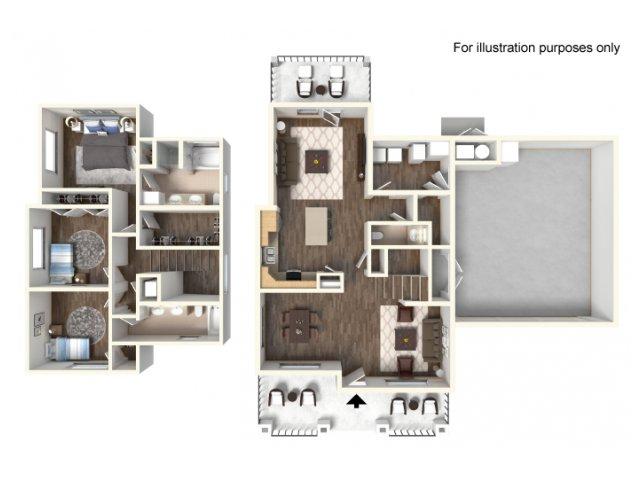 Floor Plan 12 | fort hood housing floor plans | Fort Hood Family Housing