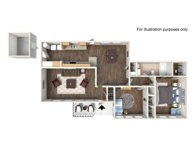 Floor Plan 4 | Fort Hood Family Housing | Fort Hood Family Housing
