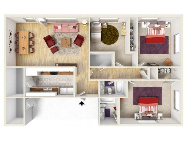 Floor Plan 11 | Fort Knox Housing | Knox Hills