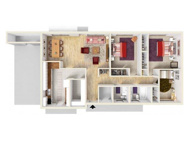 Floor Plan 6 | Fort Knox Housing | Knox Hills