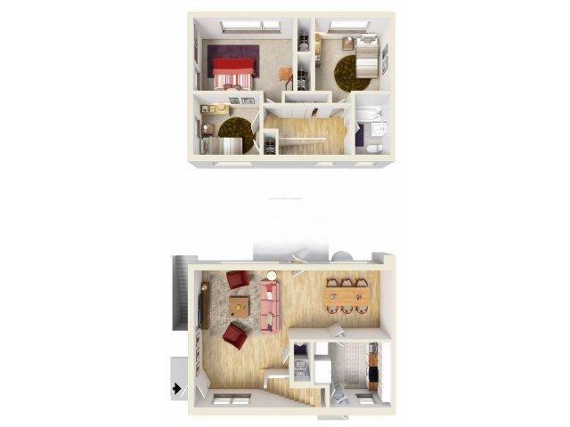 Floor Plan 4 | Fort Knox Military Housing | Knox Hills
