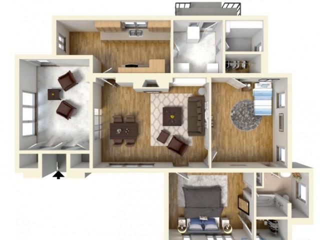Floor Plan 7 | Island Palm Communities Fort Shafter | Island Palm Communities