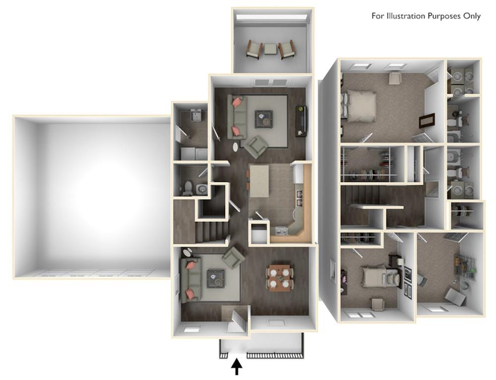 Stewart Terrace Morris 3D Floor Plan