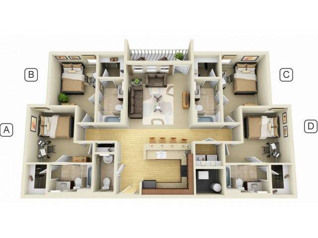 Campus Quarters Luxury Apartments