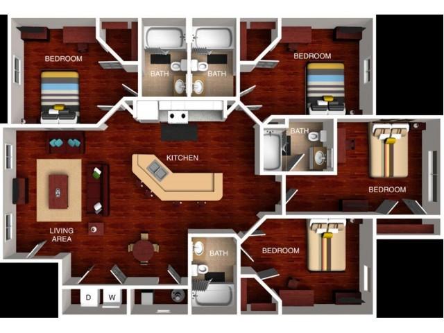 WSU Student Apartments, WSU off-campus student apartments