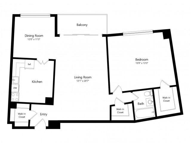 The Truman Floorplan