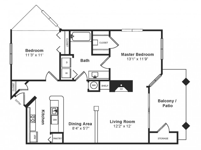 Brandywine Floor Plan