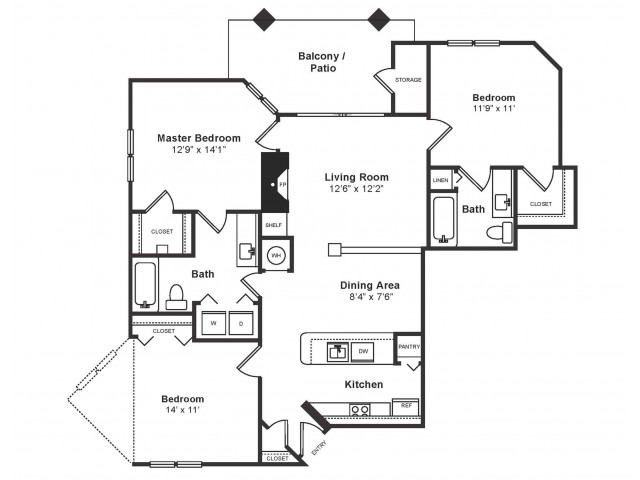 Springfield Floor Plan