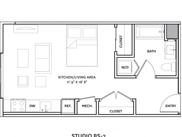 Floor Plan 5 | Charlestown Ma Apartments | The Graphic Lofts