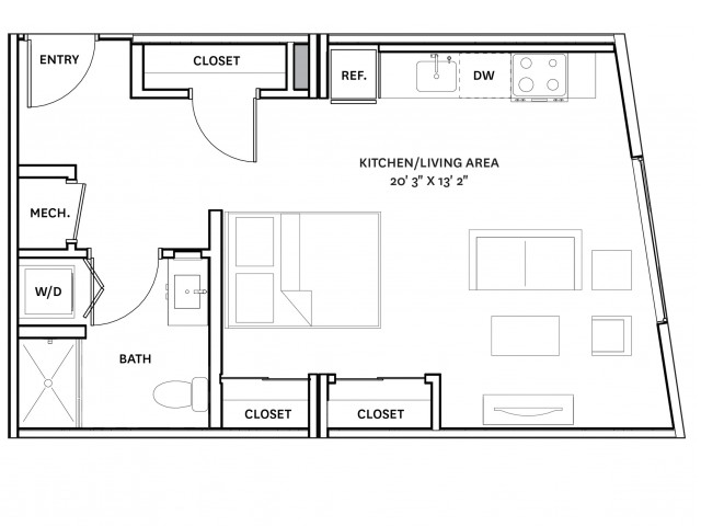 Floor Plan 10 | Charlestown Ma Apartments | The Graphic Lofts