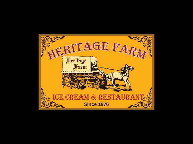 Heritae Farm Ice Cream & Restaurant logo