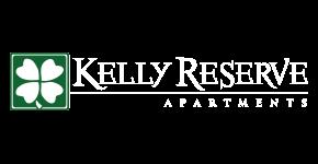 Kelly Reserve Apartments Overland Park Kansas Logo with Shamrock