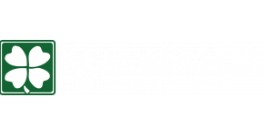 Kelly Greens Apartments Springfield Missouri Logo with Shamrock
