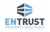 Entrust Property Solutions White Logo