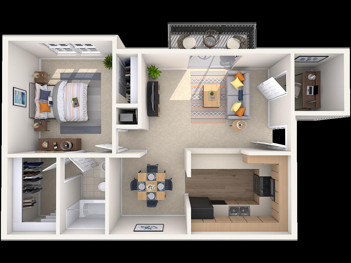 Floor Plan 1 | Peachtree Place