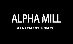 Alpha Mill Apartments Logo