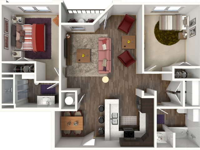 Diverse Floor Plans | Apartments For Rent Kansas City MO | Kinsley Forest