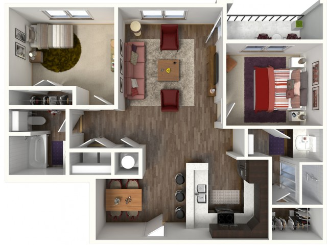 Spacious Floor Plans | Apartments In Kansas City | Kinsley Forest