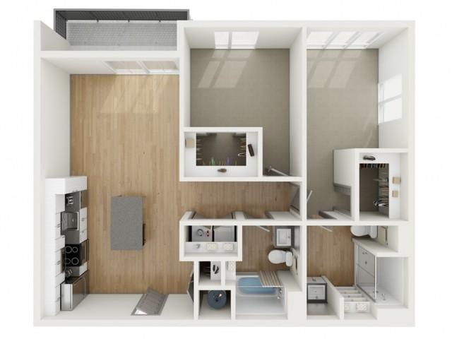 B10 Two Bedroom