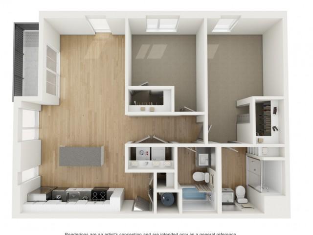 B5 Two Bedroom