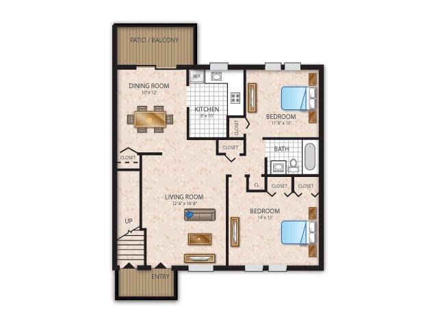 Floor Plan 1 | Fox Pointe