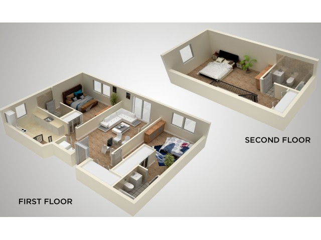 The Fairhill | 3 Bedroom 3 Bath