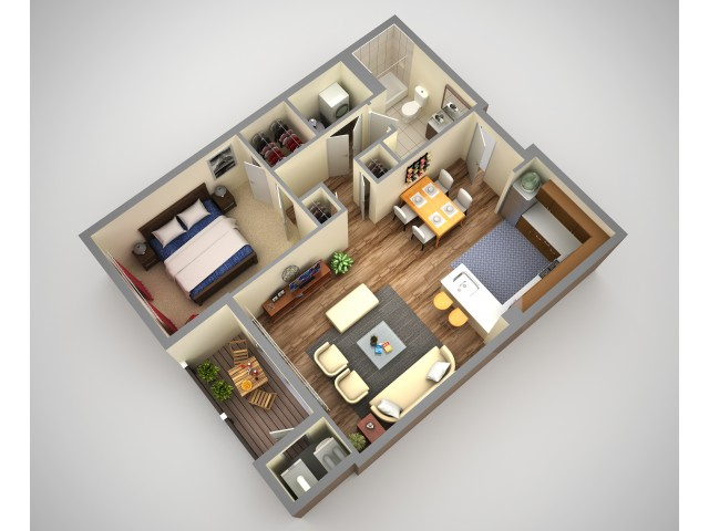 Cosmopolitan 1 Bedroom Apartment In North HIlls Pittsburgh Pa