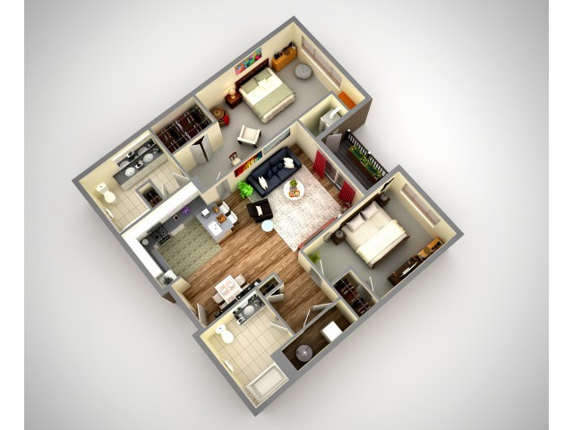 Cosmopolitan 2 Bedroom Apartments In Ross Township North HIlls Pittsburgh