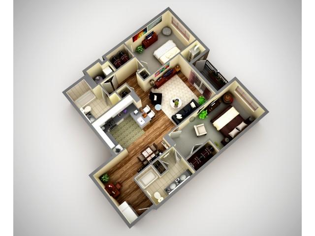 Cosmopolitan 2 Bedroom Luxury Apartment In North HIlls Pittsburgh Pa