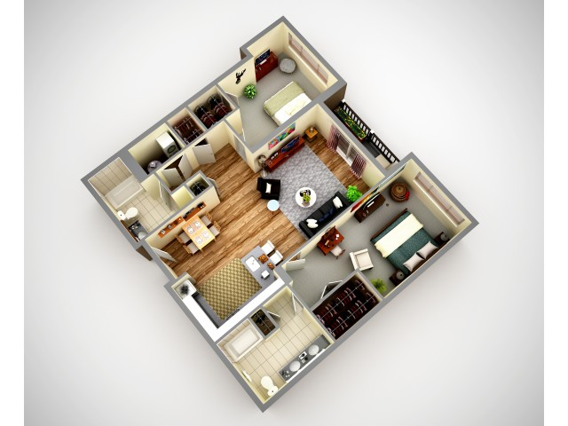 Cosmopolitan 2 Bedroom Pet Friendly Apartment In North HIlls Pittsburgh