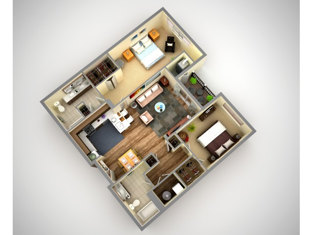 Cosmopolitan 2 Bedroom Apartment In North HIlls Pittsburgh Pa