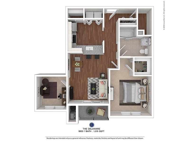 1 bedroom apartment | blackwood, nj