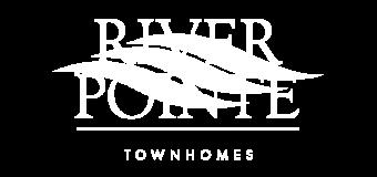 River Pointe Logo White
